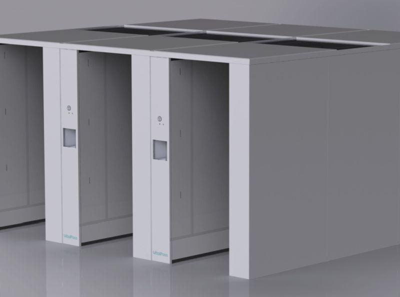 fertőtlernítő folyosó